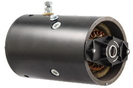 Dixie electric DC motor